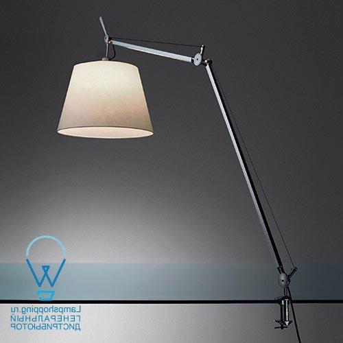 Лампы лупы бестеневые: на струбцине или шатативе