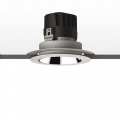 EVERYTHING 150 TONDO TRIMLESS FISSO LED 4000K 2x30° DEFL. NERO встраиваемый светильник Artemide