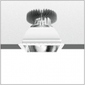 LUCERI KADRO LED TRIMLESS HP DIMM DALI 2300LM 4000K MIRROR OPTIC подвесной светильник Artemide