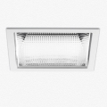 LUCERI KADRO LED TRIM NON DIMM 2500LM 4000K MIRROR OPTIC BIANCO подвесной светильник Artemide