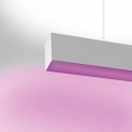 NOTHING 86 SYSTEM STAND-ALONE SOSP DIR LED RGB 36W 2372MM BIANCO подвесной светильник Artemide