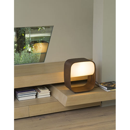 28372 1968 wood table lamp faro светильник