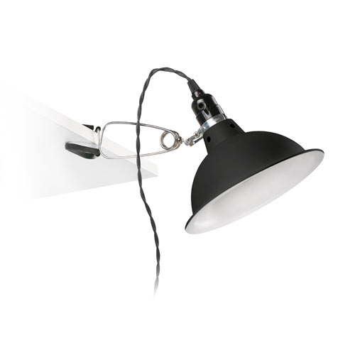 64169 Светильник PEPPER Black clip lamp