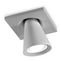 7270 Linealight Conus LED серый встраиваемый в потолок светильник