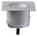 87740 i-LED Sivar сталь встраиваемый в пол светильник