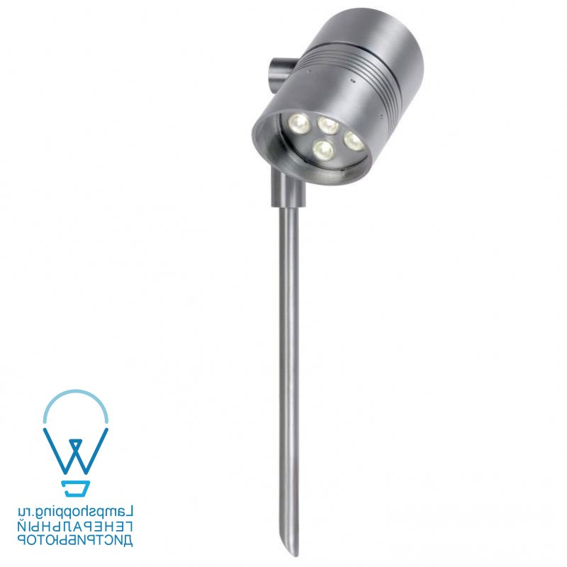 STEP Spot Tige LED 6W IP54 4000K 600LM Alu