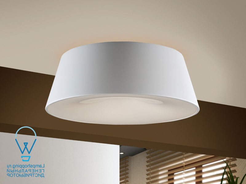 ZONE WHITE CEILING LAMP, 4L.