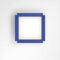 Gradian 600x600 4000K cornice blu настенный светильник Artemide