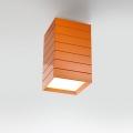 GROUPAGE 20 LED C ARANCIO потолочный светильник Artemide