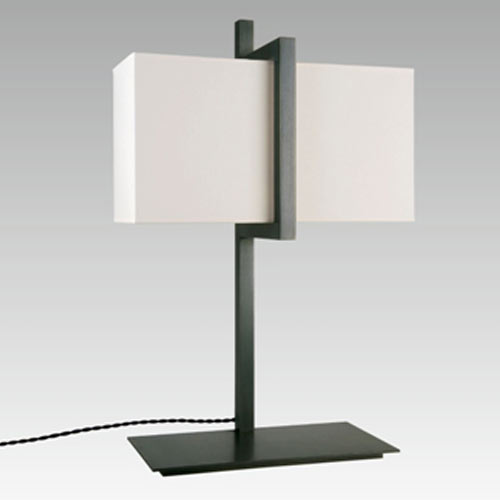 BASTET/32 TABLE LAMP H55CM BRUSHED CHROME without shade