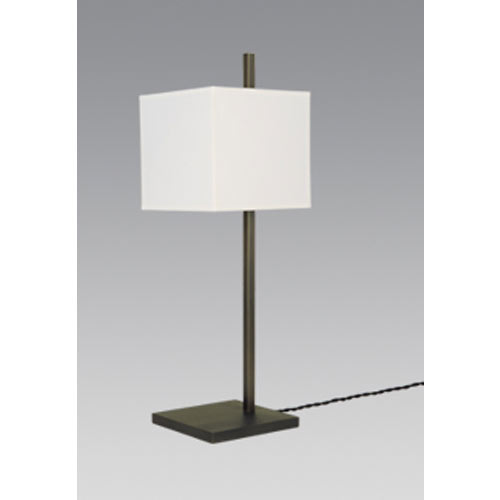 FARAS 1/32 TABLE LAMP H52CM BRUSHED CHROME without shade