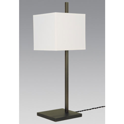 FARAS 2/32 TABLE LAMP H73CM BRUSHED CHROME without shade