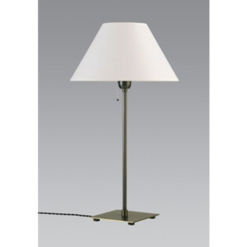 HOURGADA/32 TABLE LAMP H63CM BRUSHED CHROME without shade