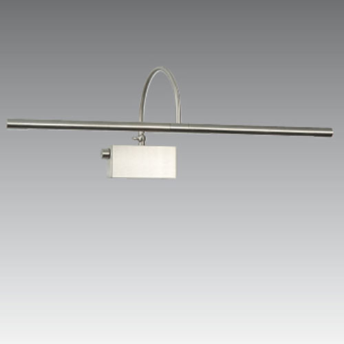 PACHED 53/33 PAINTING LAMP L53CM 2x20W (+dimmer) BRUSHED NICKEL