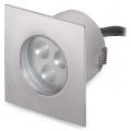 87738 i-LED Sivar хром встраиваемый в пол светильник